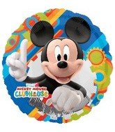 "18"" Mickey Mouse Clubhouse Gear Pattern - 1"