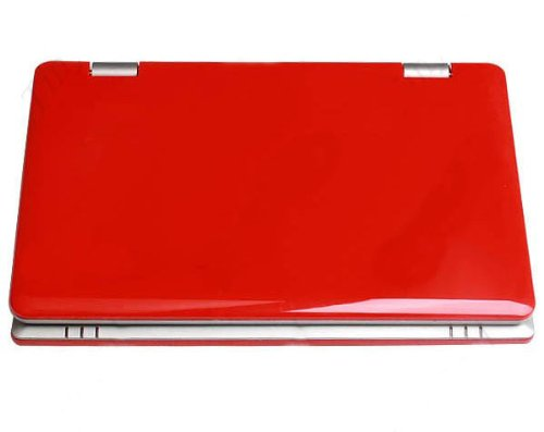 7 Inch Mini Laptop & Netbook NPC400 (Red) with WiFi for Learning & Playing