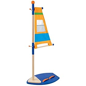 Sail coat stand for kids