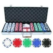 11. 5g 500pc Double Suited Poker Chip Set