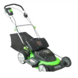 Steele Products Sp-Pm207Sdc 20-Inch 24 Volt Cordless Electric Self Propelled Lawn Mower