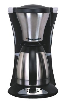 Black And Decker Coffee Maker Heating Element : Black & Decker TCM830 10-Cup Thermal Stainless-Steel Coffeemaker Reviews www.cafibo.com
