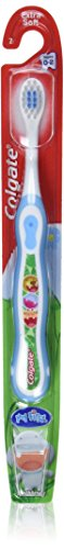 Colgate My First Toothbrush, Ages 0-2, Extra Soft 7, Colors Vary  (Pack of 6)