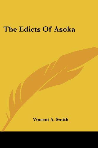 The Edicts of Asoka