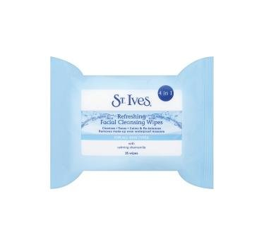 St. Ives Refreshing Face Cleansing Wipes - 35 Pack of Wipes