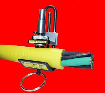 VT-270 Vee-Twin Precision Cable Stripper. For Use On Rubber Jacketed Cables from 5/16