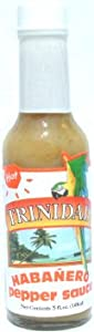 Trinidad Hot Habanero Pepper Sauce - 5 Oz by Trinidad Traders