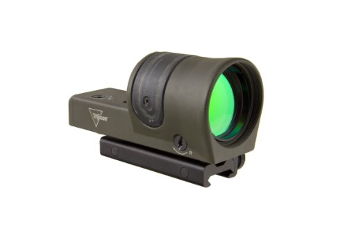 Reflex Rx34 1X 42Mm Amber 4.5 Moa Dot Reticle With Flattop Mount, Od Green