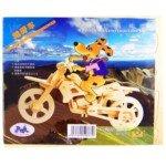 Creative 3D Jigsaw Woodcraft Constructio...