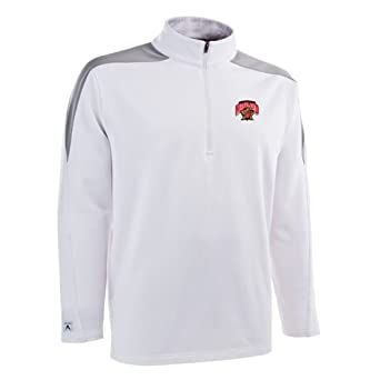 NCAA Maryland Terrapins Succeed Jersey Fleece Pullover Mens by Antigua