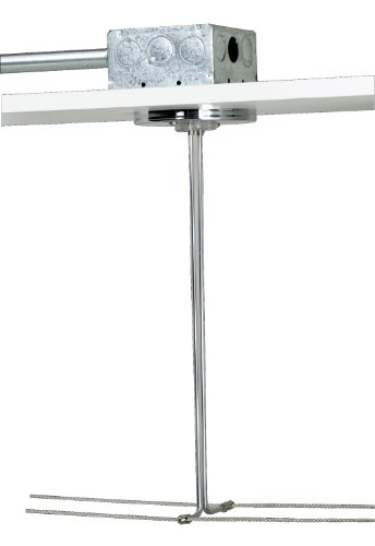 "Tech Lighting 700Kp4C24C Accessory - 4"" Round Kable Lite Single Feed Canopy, Chrome Finish"