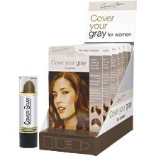 Best Cheap Deal for Cover Your Gray Hair Color Stick (Pack of 6) Dark Brown by USA - Free 2 Day Shipping Available
