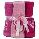 Disney Minnie Mouse Washcloth Bundle
