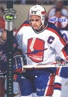 Sale alerts for Classic Cory Stillman, Windsor Spitfires - OHL, 1992 Classic Four Sport Draft Pick Certified Autographed Card - Covvet
