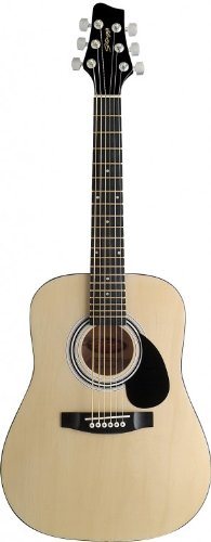 Stagg Sw201 1/2 N Dreadnought 1/2 Model Acoustic Guitar - Natural