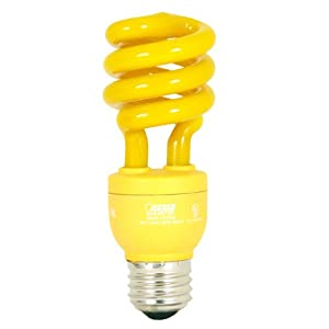 Feit Electric Esl13tbug 13-watt Compact Fluorescent Mini Twist Bug 60-watt Incandescent Equivalent by Feit Electric