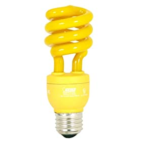 Feit Electric ESL13T/BUG 13-Watt Compact Fluorescent Mini Twist Bug (60-Watt Incandescent Equivalent)
