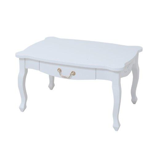 JKプラン キャッツプリンセス リビングテーブル ホワイト SGT-0113 SGT-0113-WH