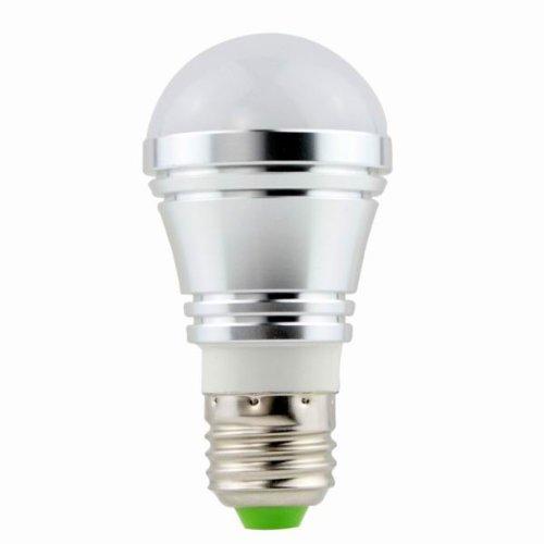 E27 3W Led Bulb Pure White Ac(85V To 265V) Source(High Performance Led)