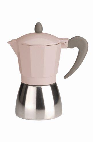 Typhoon Vintage Pink 6-Cup Espresso Maker
