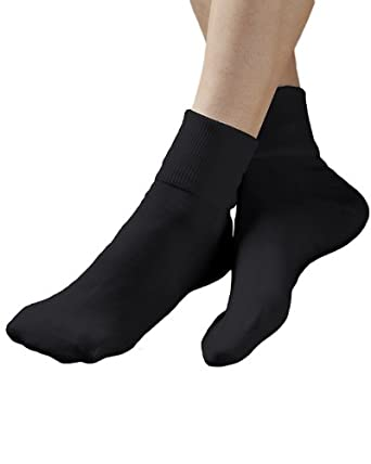 Buster Brown 100% Cotton Socks, Black, 9, 6-pk