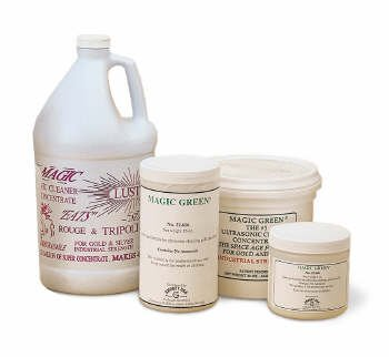 MAGIC GREEN ULTRASONIC CLEANING SOLUTION CONCENTRATE MAKES 16 GALLONS