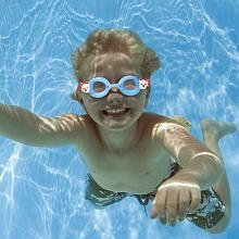 Fisher Price Minnow Swim Goggles - White