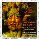 Orlando di Lasso: Villanelle, Moresche e Altre Canzone