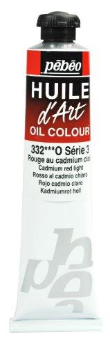 Pebeo Huile d'Art Tube, 80ml, Cadmium Red Light