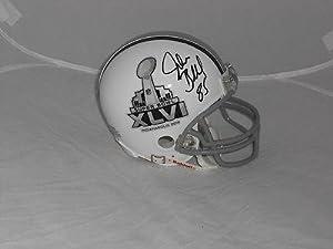 Jake Ballard New York Giants signed Super Bowl XLVI mini helmet - Autographed NFL... by Sports Memorabilia