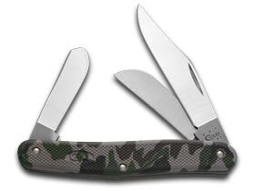 Case Xx Camo Zytel Synthetic Stockman Stainless Pocket Knife Knives