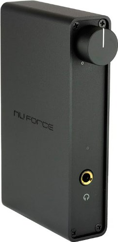 Nuforce Icon Hd Black (High Performance Headphone Amp And Usb Dac)