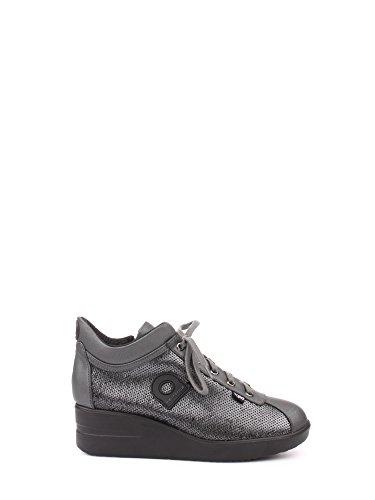 Agile By Rucoline 226 Sneakers Alta Donna Vernice Canna Di Fucile Canna Di Fucile 41