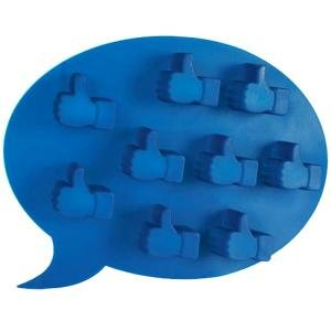 Fabriquez vos glaçons en forme de Like Facebook, facebook, Gadgets,  geek