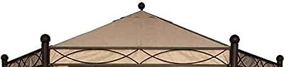 Siena Garden 407822 Dach zu Pavillon Kenia 6eck Polyester natur von Siena Garden bei Gartenmöbel von Du und Dein Garten