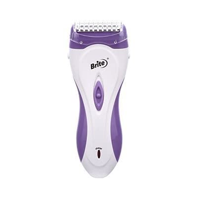 Brite 2 in1 Rechargeable Lady BLS-8844 Shaver For Women (Pink or Purple)