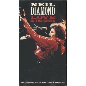 Neil Diamond: Love At The Greek [VHS] (1976)