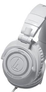オーディオテクニカ プロフェッショナルモニターヘッドホン コンプリートホワイト ATH-M50 CWH IM