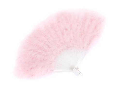 Creative Education's Pink Feather Fan - 1