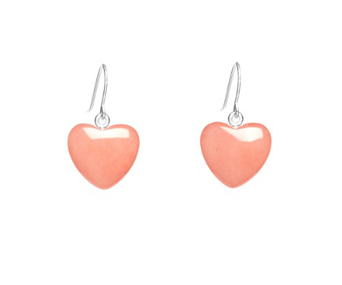 Lola Rose 'Daniella' Pink Coral Quartzite Earrings
