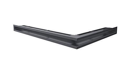Kratki Lüftungsgitter Kamingitter Eck-Luft graphit 766mm x 547mm x 60mm jetzt bestellen