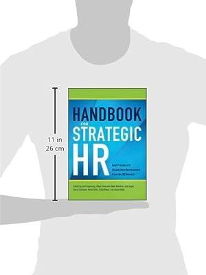 Handbook for Strategic HR: Best Practices in Organization Development from the OD Network