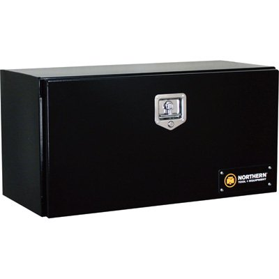 Northern Tool + Equipment Locking Heavy-Duty Steel Underbody Truck Box - 36in. x 17in. x 18in., Black, Model# 36212736