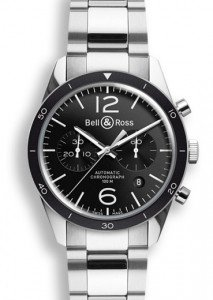 Bell and Ross Vintage Original Automatic Chronograph Mens Watch BRV126-BL-BE-SST
