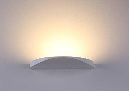 Elegante lampada da parete Lanfu, molto elegante, luce bianca calda, a LED, ideale per camera da letto, salotto, scale e lounge, 10 W, 230 x 112 x 20 mm