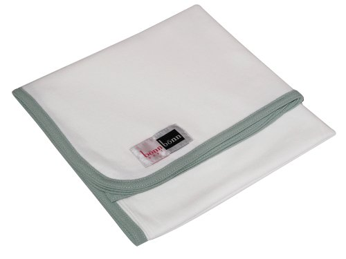 "Bonnbonn Baby Moisture Control Wicking Swaddling Blanket, Green, 42"" X 42"" back-67060"