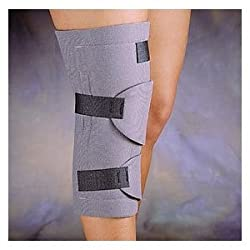 Cryotherm Knee Wrap - Cold & Hot Compression Wraps, Knee Wrap with 2 Gel Packs