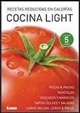 Cocina light: Caja x 5 recetas reducidas en calorías (Spanish Edition)