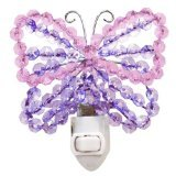 Lambs & Ivy Beaded Nightlight, Butterfly