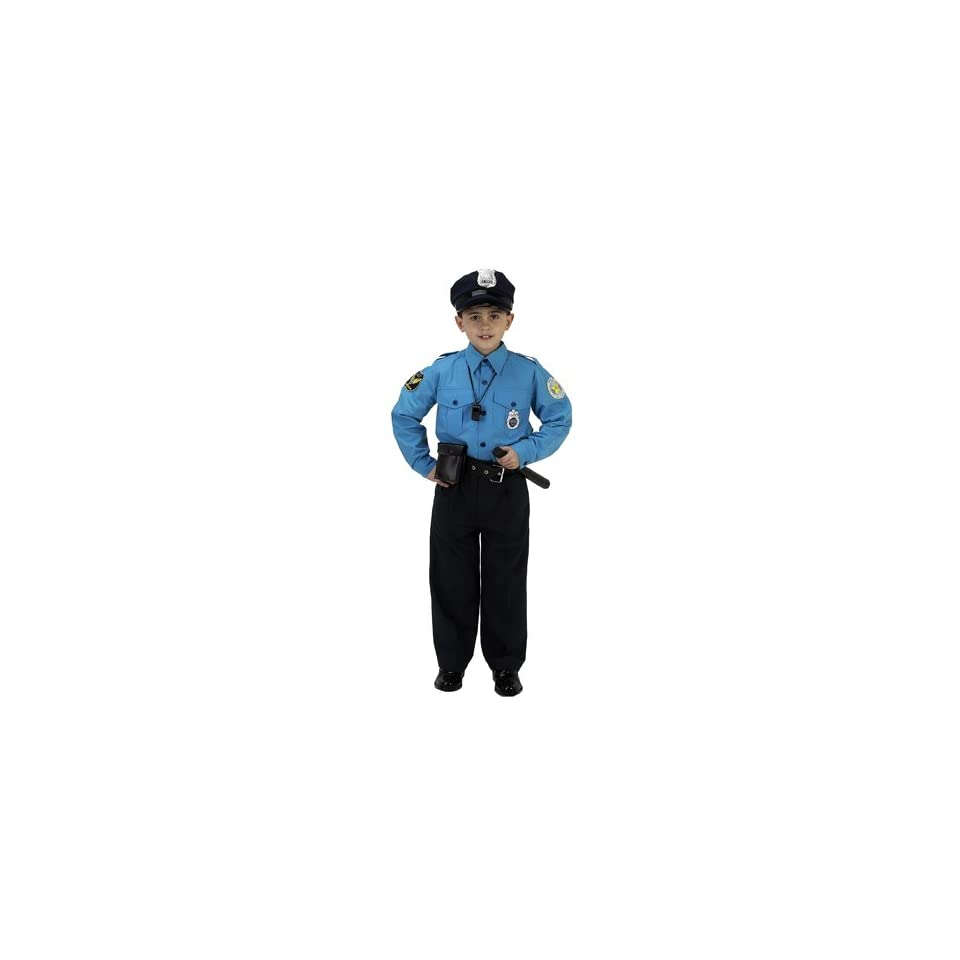 Personalized Child Police Officer Costume